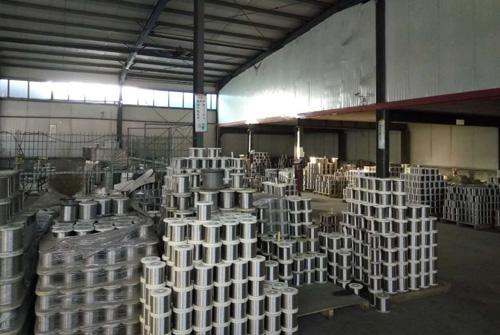 不锈钢筛网原材料区