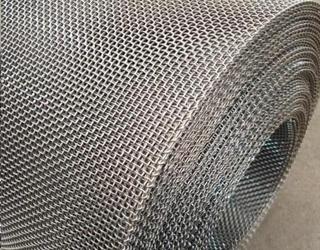 钢丝轧花网